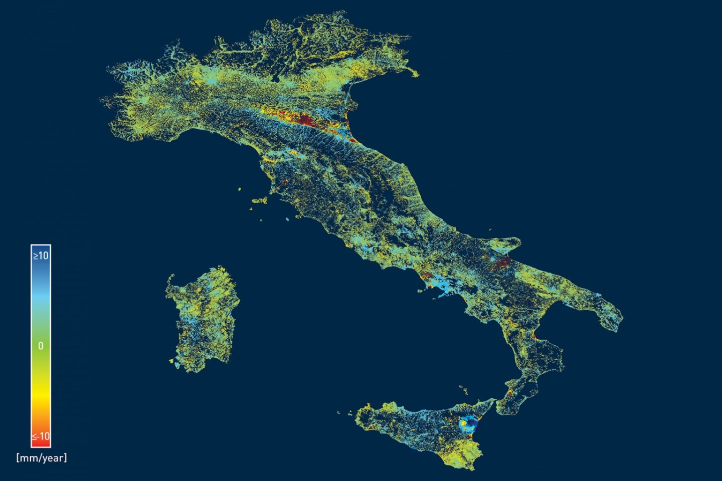 InSAR Monitoring over Italy