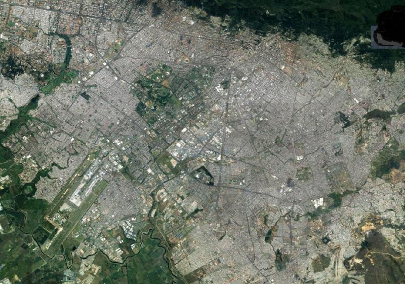 Bogotá optical image