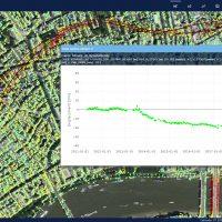 InSAR analysis during Crossrail metro line construction