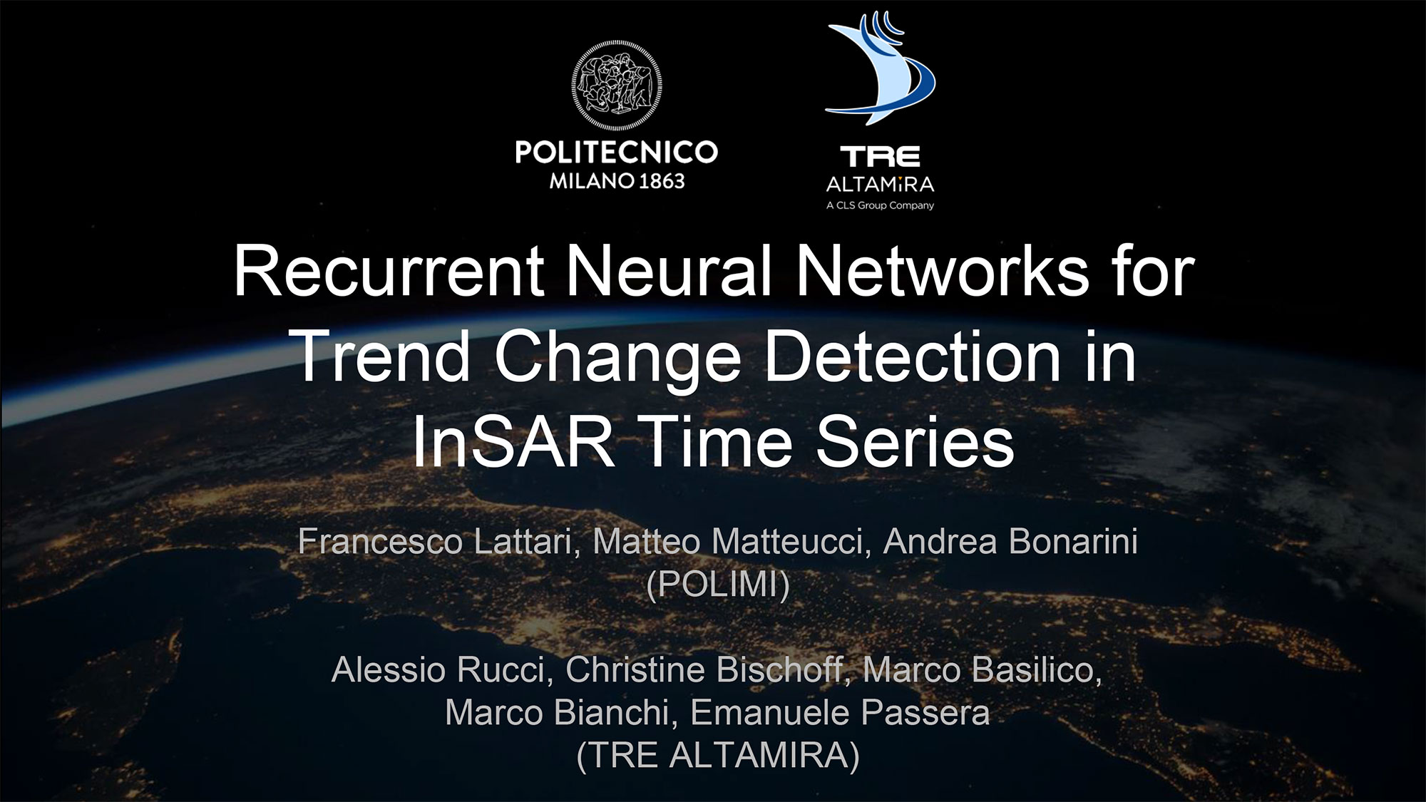 Recurrent Neural Networks-for-Trend-Change-Detection in InSAR Time Series