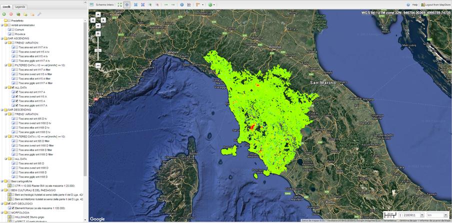 Regione Toscana platform