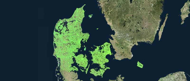 InSAR measurements over Denmark