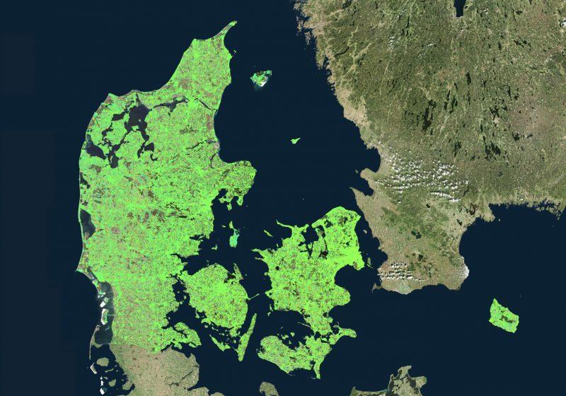InSAR measurements over Denmark