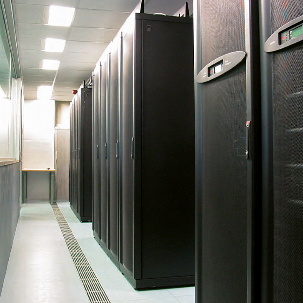 TRE ALTAMIRA's data center