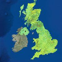UK InSAR motion map